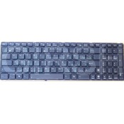 Клавиатура Asus K52, K52F, K52J, K52JK, G51, G53, G60, G72, G73, W90, X52, X61, A52, F50, F70.RU,Black Frame Black
