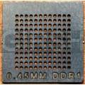 BGA трафарет 0,45mm DDR-1