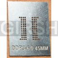 BGA трафарет 0,45mm DDR3-6