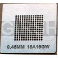 BGA трафарет 0,45mm 18A16GW