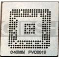 BGA трафарет 0,45mm PVC0019