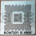 BGA трафарет 0,4mm BCM7231