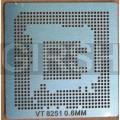BGA трафарет 0,6mm VT8251