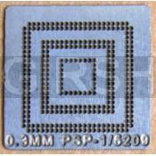 BGA трафарет 0,3mm PSP-1/5209