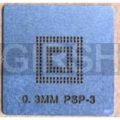 BGA трафарет 0,3mm PSP-3