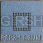 BGA трафарет 0,3mm PSP-3-1