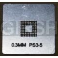 BGA трафарет 0,3mm PS3-5