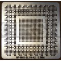 BGA трафарет 0,5mm Nvidia NF6801-SL1-N-A2