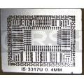 BGA трафарет 0,4mm INTEL I5-3317U