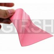Термопрокладка силиконовая (100*100*1.0mm, 6W/m-K) розовая (-40...+200)