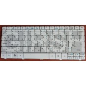 Клавиатура Acer Aspire One 521, 522,532, 533,  D255, D255E, 257, D260, Gateway LT21 RU, белая